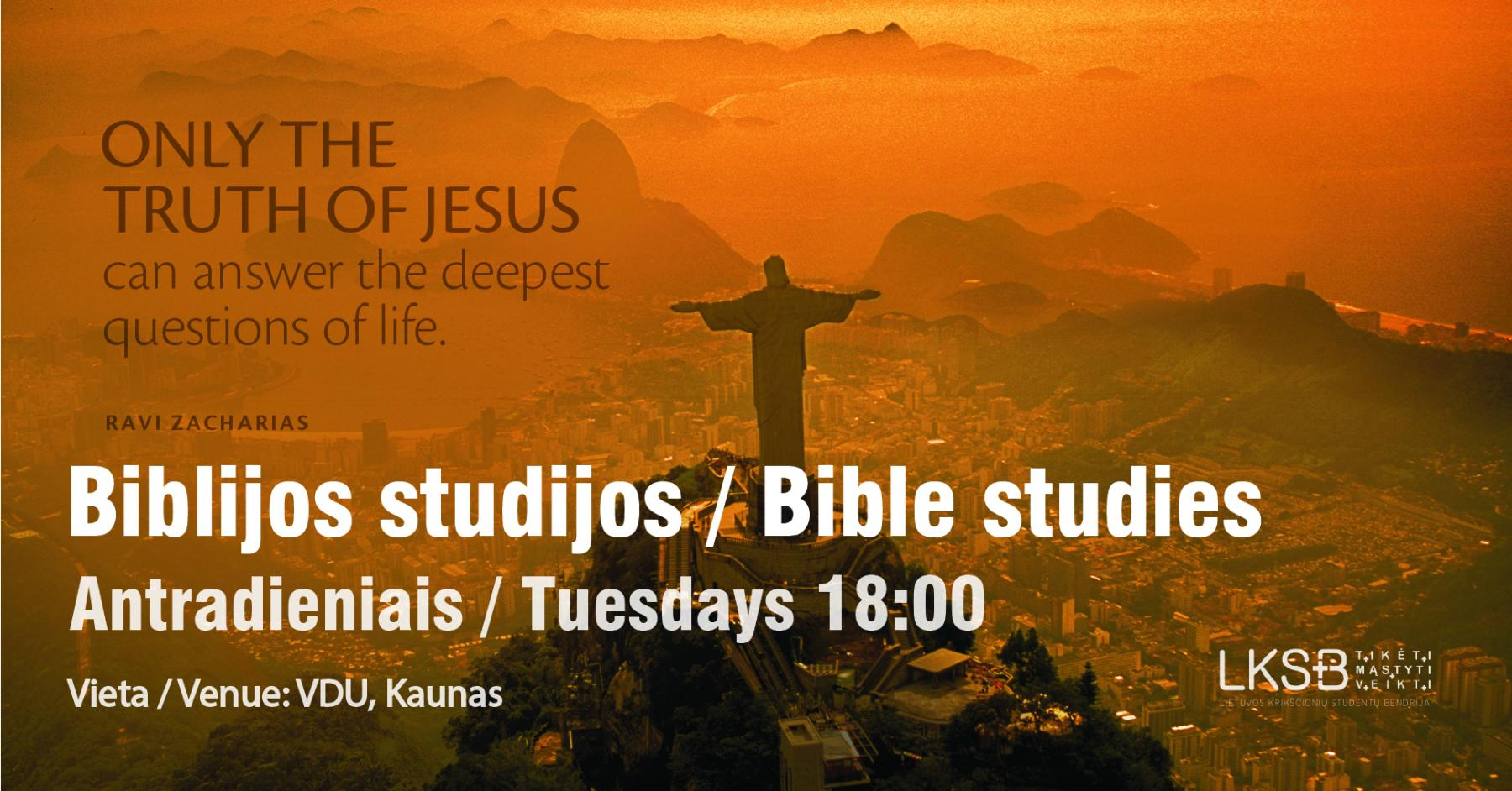 Biblijos studijos